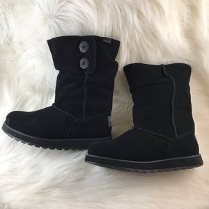 Skechers Keepsakes Freezing Temps Black Boots 7.5